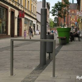 Bicycle racks for city of Rybnik